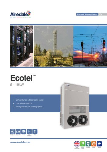 Ecotel™ FreeCool 5-19kW Sales Brochure (English)