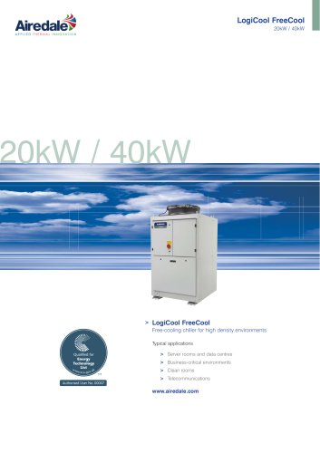 LogiCool™ FreeCool 20kW / 40kW Sales Brochure (English)