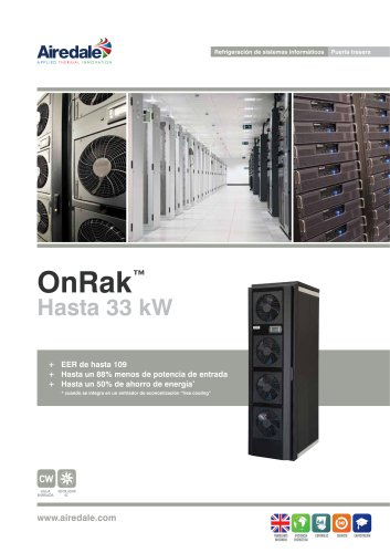 OnRak™ 3kW-35kW Sales Brochure (Spanish)