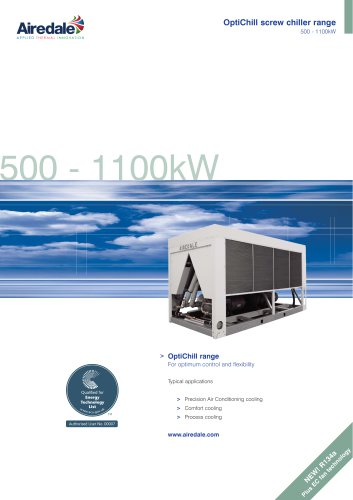 OptiChill™ 500-1155kW Sales Brochure (English)