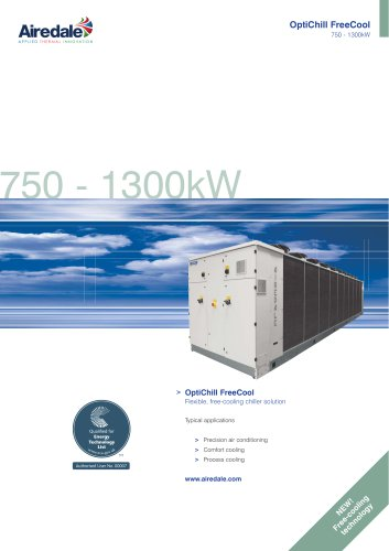 OptiChill™ FreeCool 750kW-1365kW Sales Brochure (English)