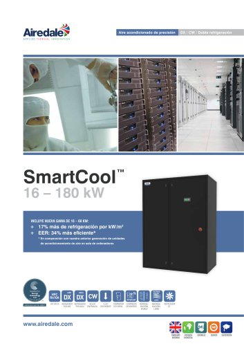SmartCool™ 16-233kW Sales Brochure (Spanish)