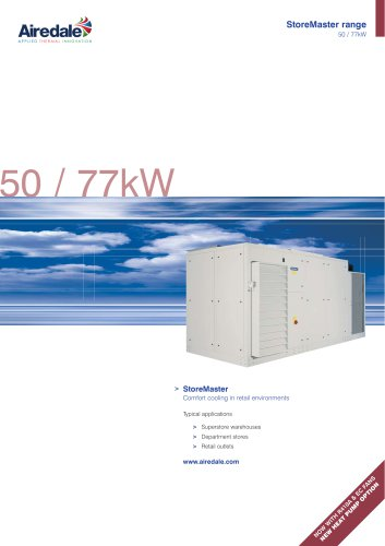 StoreMaster™ 50kW-77kW Sales Brochure (English)