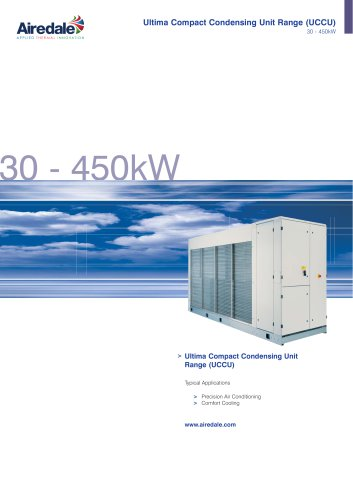 Ultima™ Compact Condensing Unit 30kW-450kW Sales Brochure (English)