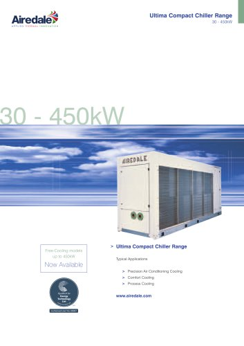 Ultima™ Compact FreeCool 30kW-450kW Sales Brochure (English)