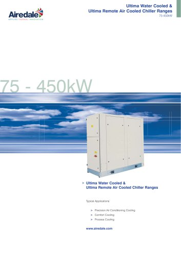 Ultima™ Remote Air Cooled 75kW-450kW Sales Brochure (English)