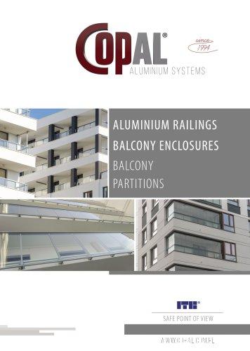ALUMINIUM BALUSTRADES - BALCONY ENCLOSURES