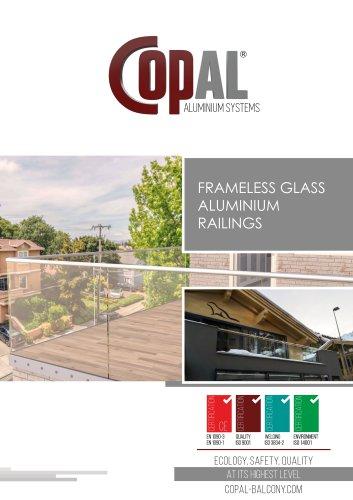 FRAMELESS GLASS ALUMINIUM RAILINGS