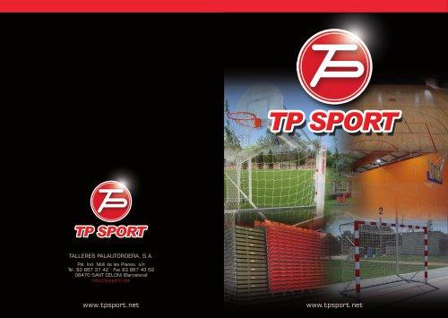 Catalogo Tpsport fabricantes productos deportivos