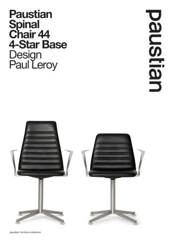 Paustian Spinal Chair 44 4-Star Base