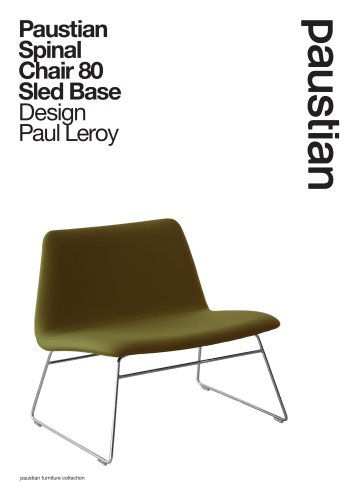 Paustian Spinal Chair 80 Sled Base