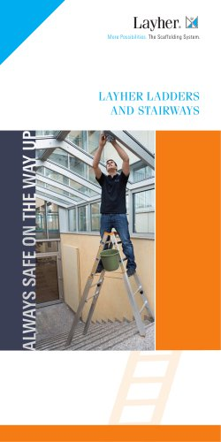 LAYHER LADDERS AND STAIRWAYS