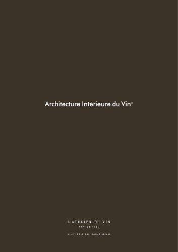 Interior Wine Architecture - Main Collection