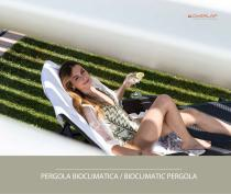Bioclimatic pergola