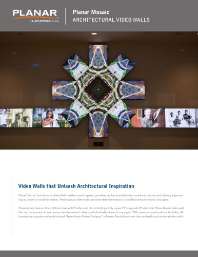 ARCHITECTURAL VIDEO WALLS