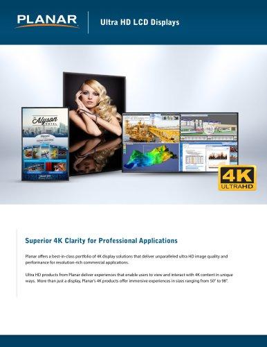 Ultra HD LCD Displays