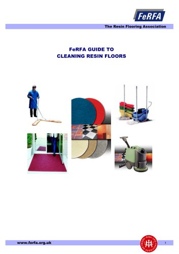 FeRFA GUIDE TO CLEANING RESIN FLOORS