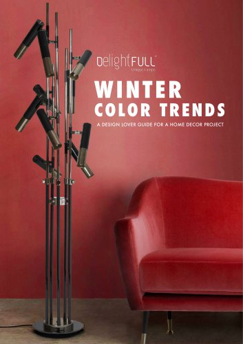 Winter Color Trends by DelightFULL