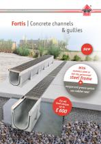 Concrete channel FORTIS