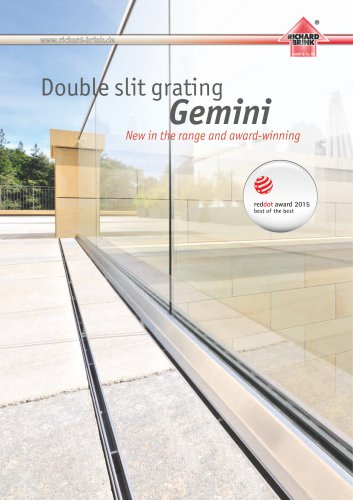 Double slit grating Gemini