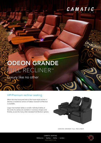 ODEON GRANDE FULL RECLINER™