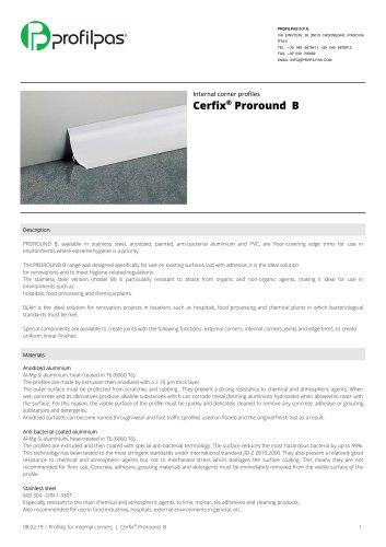 Cerfix®  Proround B