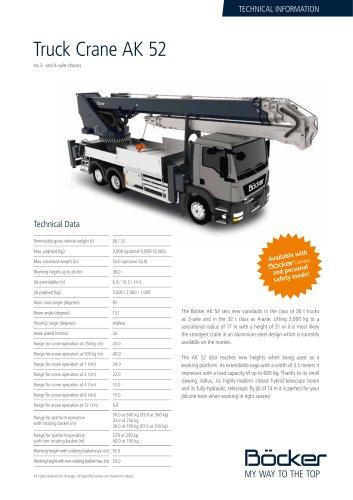 Truck Crane AK 52