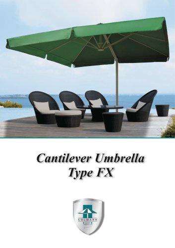 Brochuere Cantilever Umbrella Typ FX