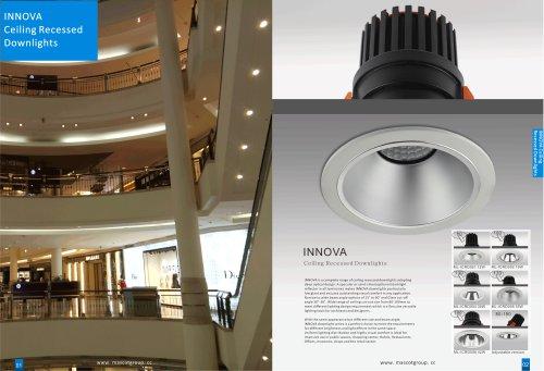 Innova Ceiling Recessed Downlight & Spotlight