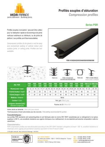 Compression profiles Serie PSR