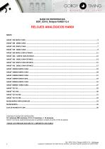 Relojes analógicos HANDI – base de referencias - 2