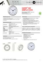 Relojes analógicos HANDI – base de referencias - 3