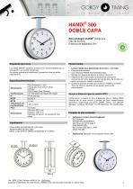Relojes analógicos HANDI – base de referencias - 5