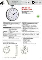 Relojes analógicos HANDI – base de referencias - 9