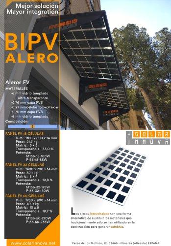 BIPV-Aleros Solares Fotovoltaicos