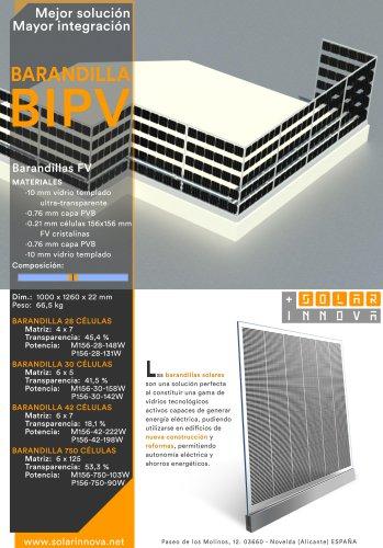 BIPV-Barandillas Fotovoltaicas