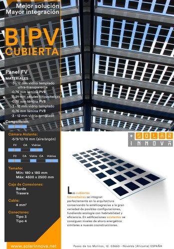 BIPV-Cubiertas Solares Fotovoltaicas