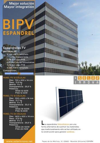 BIPV-Espandreles Solares Fotovoltaicos