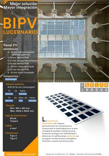 BIPV-Lucernarios Solares Fotovoltaicos