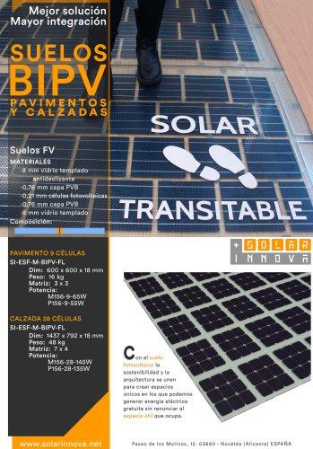 BIPV-Suelo Solar Fotovoltaico
