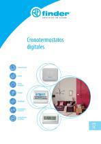 Cronotermostatos digitales