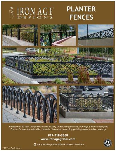 Iron Age Planter Fences