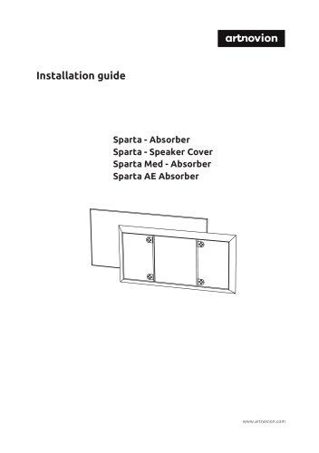 Sparta Installation guide