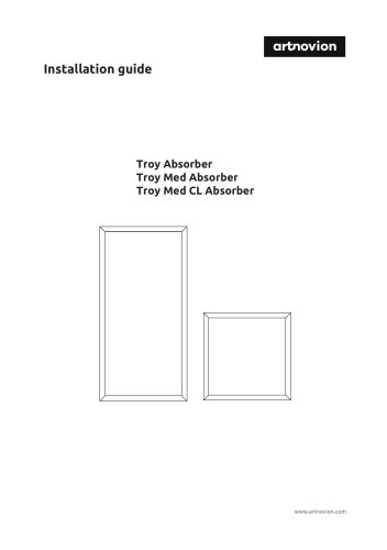 Troy Absorber Installation guide