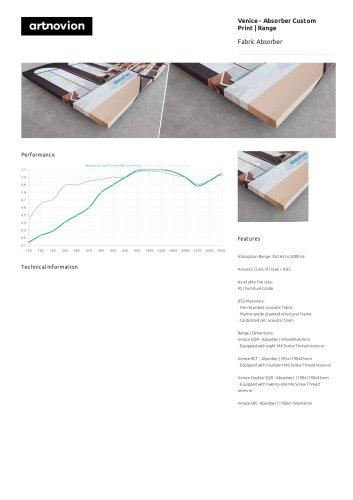 Venice - Absorber Custom Print | Range