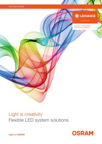 Light is creativity Flexible LED system solutions