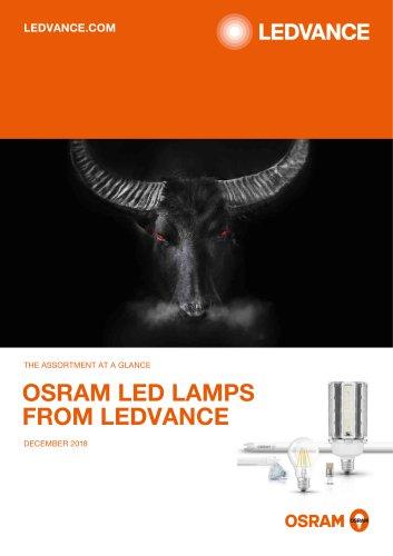 OSRAM LED LAMPS FROM LEDVANCE