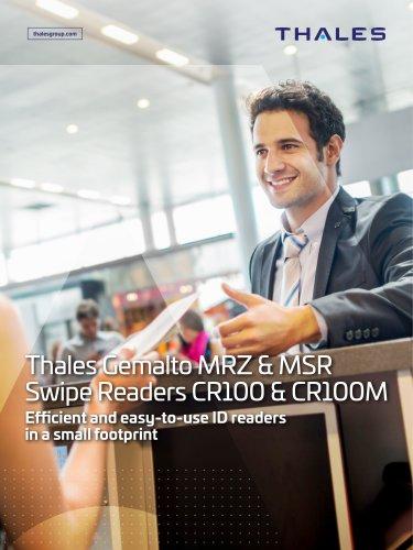 Thales Gemalto MRZ & MSR Swipe Readers CR100 & CR100M