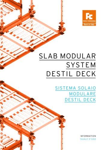 SLAB MODULAR SYSTEM DECK