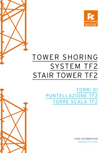 TOWER SHORING SYSTEM TF2 / STAIR TOWER TF2